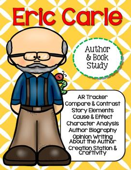 Eric Carle Author & Book Study {CCSS}