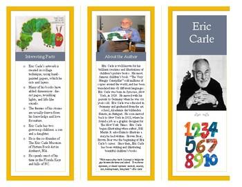 Eric Carle- Author Brochure