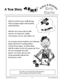 Eric Carle (Author & Illustrator)