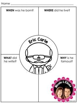 Writing Craft - Eric Carle Author Study