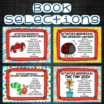 Spring Activities for Eric Carle Read Alouds