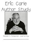 Eric Carle Author Study Journal