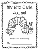 Eric Carle Author Study - Reader's Response Journal for Spring