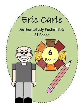 Eric Carle - Author Study - Student Packet