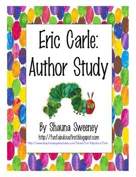 Eric Carle: Author Study Unit