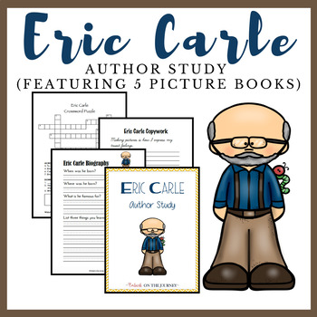 Eric Carle Author Study for K-3