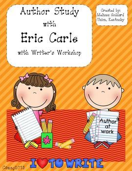 Eric Carle Author Study w/Writers Workshop