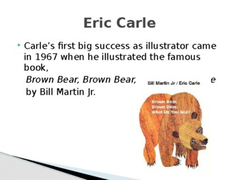 Eric Carle Biography PowerPoint