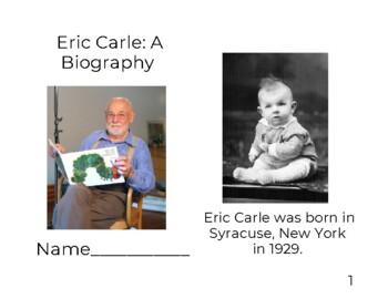 Eric Carle Biography Reader