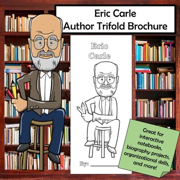 Eric Carle Biography Trifold Brochure