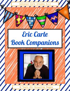 Eric Carle Book Companions: 15 Books 50+ Response Sheets