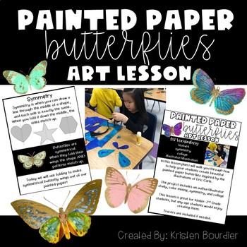 Eric Carle Butterflies Art Lesson Plan