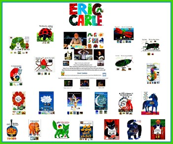 Eric Carle Writing Prompts, QR Codes, and Prezi