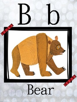 Eric Carle Character Alphabet (2)
