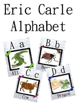 Eric Carle Character Alphabet