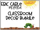 Eric Carle Classroom Bundle