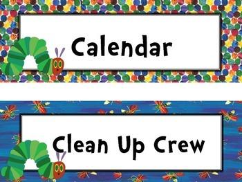 Eric Carle Classroom Decorating/Bulletin Bundle