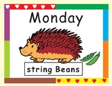 Eric Carle Days of the Week Inspired by Today is Monday