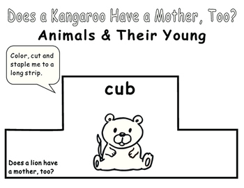 Eric Carle Does a kangaroo have a mother, too?--Animal Headbands
