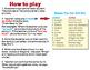 From Head to Toe Eric Carle -Tic Tac Toe Bingo Game Cards