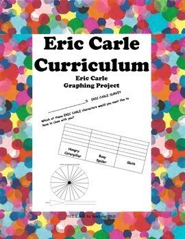 Eric Carle Graphs:  Bar Graph, Tally Graph, Picture Graph, Pictograph, Pie Graph