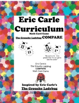 Eric Carle Grouchy Ladybug Compare Game (Common Core Aligned)