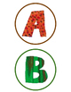 Eric Carle Inspiration: Classroom Decor: Bulletin Board Letters