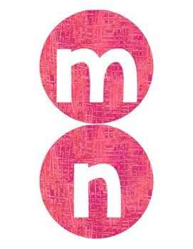 Eric Carle Inspired Alphabet Bundle