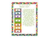 Eric Carle Inspired Classroom - Behavior Chart - Clip Chart