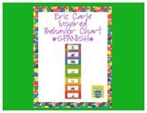Eric Carle Inspired Classroom - Behavior Chart - SPANISH