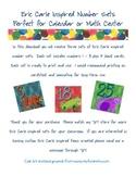 Eric Carle Inspired Classroom - Animal Calendar Numbers