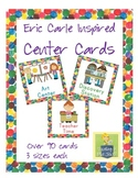 Eric Carle Inspired Classroom - Center Cards