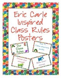 Eric Carle Inspired Classroom - Classroom Rules