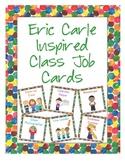 Eric Carle Inspired Classroom - Class Job Cards