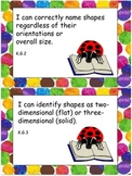 Eric Carle Inspired Common Core Objectives Kindergarten Ma