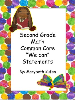 Eric Carle Inspired Common Core Objectives Second Grade Ma