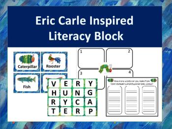 Eric Carle Inspired Daily 5 Literacy Block