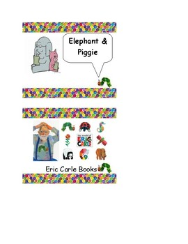 Eric Carle Inspired Library Bin Labels