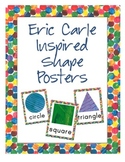 Eric Carle Inspired Classroom - Shape Posters