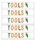 Eric Carle Inspired Table Bin labels {FREEBIE}