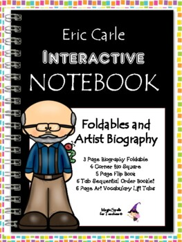 Eric Carle - Interactive Notebook Foldables - For Any Carle Book!