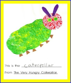 Eric Carle   A Student Collage Book and Journal