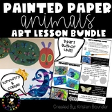 Painted Paper Lesson Plan Bundle #1  K-2