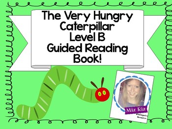 "Printable Level B Guided Reading Book ""Where is the Caterpillar?"""