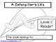 "Printable Level C Guided Reading Book ""A Caterpillar's Life."""