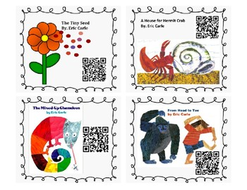 Eric Carle Listen to Reading QR Codes