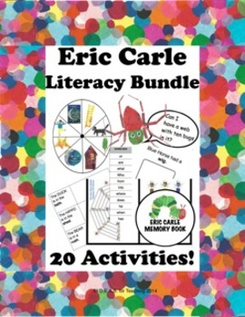 Eric Carle Literacy Bundle: 20 Language Arts Activities!