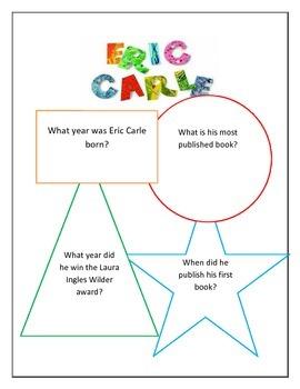 Eric Carle Literature Study