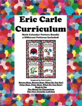Eric Carle Math Calendar Pattern Bundle (4 Different Patterns Included)