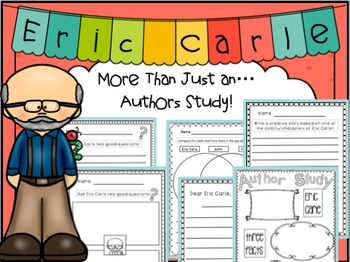 Eric Carle More Than an Authors Study!